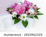 Bouquet Of Delicate Flowers Of...
