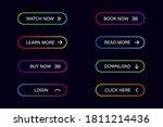 modern website buttons. set of... | Shutterstock .eps vector #1811214436
