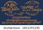 handwritten calligraphic... | Shutterstock .eps vector #1811291230