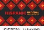 national hispanic heritage...   Shutterstock .eps vector #1811293603