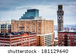 view of the bromo seltzer tower ... | Shutterstock . vector #181129640
