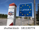 general schengen country border ... | Shutterstock . vector #181130774