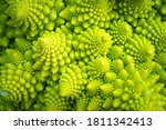 Green Vegetable Background Of...