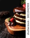 A Slice Of Homemade Chocolate...