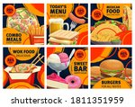 Fast Food Combo Meals Sale...