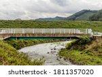 Rural Concrete Bridge Over...
