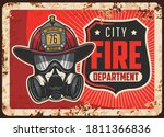City Fire Department Rusty...