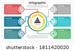 business infographic template... | Shutterstock .eps vector #1811420020