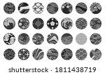 japanese emblem and symbol... | Shutterstock .eps vector #1811438719