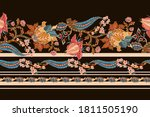 seamless border with indian... | Shutterstock .eps vector #1811505190