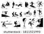 adaptive recreational... | Shutterstock .eps vector #1811521993