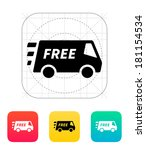 free delivery service icon.