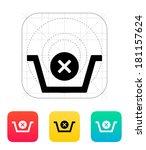 shopping basket delete icon.