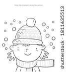 merry christas worksheets and... | Shutterstock .eps vector #1811635513