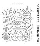 merry christas worksheets and... | Shutterstock .eps vector #1811635570