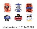 modern motivational quote set ...   Shutterstock .eps vector #1811652589