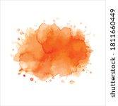 vector splash of brush shades... | Shutterstock .eps vector #1811660449