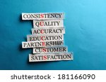 success acronym in business... | Shutterstock . vector #181166090