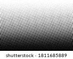 halftone dots background. fade... | Shutterstock .eps vector #1811685889