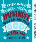 hand lettering with bible verse ... | Shutterstock .eps vector #1811737033