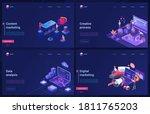 data analysis  digital...   Shutterstock .eps vector #1811765203