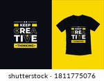 keep creative thinking modern... | Shutterstock .eps vector #1811775076