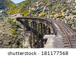 Railway Track Of Taieri Gorge...