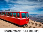 Pikes Peak Cog Train From Top...