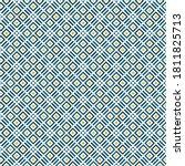 mediterranean style ceramic... | Shutterstock .eps vector #1811825713