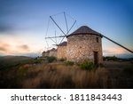 Windmills On Top Of A Mountain...
