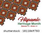 national hispanic heritage...   Shutterstock .eps vector #1811869783