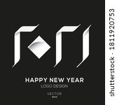 creative arabic number design   ... | Shutterstock .eps vector #1811920753