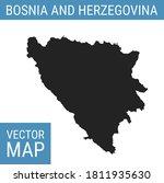 bosnia and herzegovina vector... | Shutterstock .eps vector #1811935630