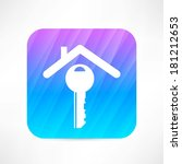 house icon | Shutterstock .eps vector #181212653