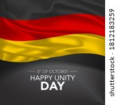 germany happy unity day... | Shutterstock .eps vector #1812183259