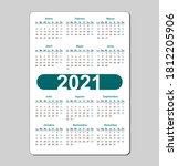 Vertical Color Pocket Calendar...