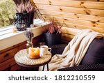 Cute autumn hygge home decor...