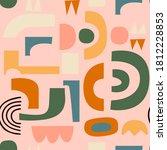 vector abstract seamless... | Shutterstock .eps vector #1812228853