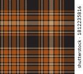 orange glen plaid textured... | Shutterstock .eps vector #1812235816