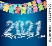 Happy New Year 2021  Holiday...
