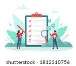 survey vector illustration....   Shutterstock .eps vector #1812310756