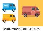 vintage van vector illustration....   Shutterstock .eps vector #1812318076