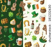 pattern for saint patrick day... | Shutterstock .eps vector #181232630