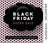 black friday super sale web... | Shutterstock .eps vector #1812349369