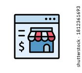 shop  website icon. simple...