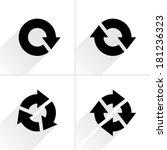 4 black arrow refresh  reload ...