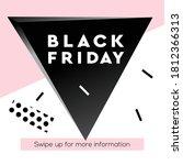 black friday super sale web... | Shutterstock .eps vector #1812366313