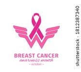 wonder women cancer survivor.... | Shutterstock .eps vector #1812387340