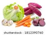 vegetables lettuce beets sweet... | Shutterstock . vector #1812390760
