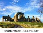 View Of Egglestone Abbey ...